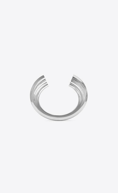 Bracciale YSL OPYUM in metallo argentato