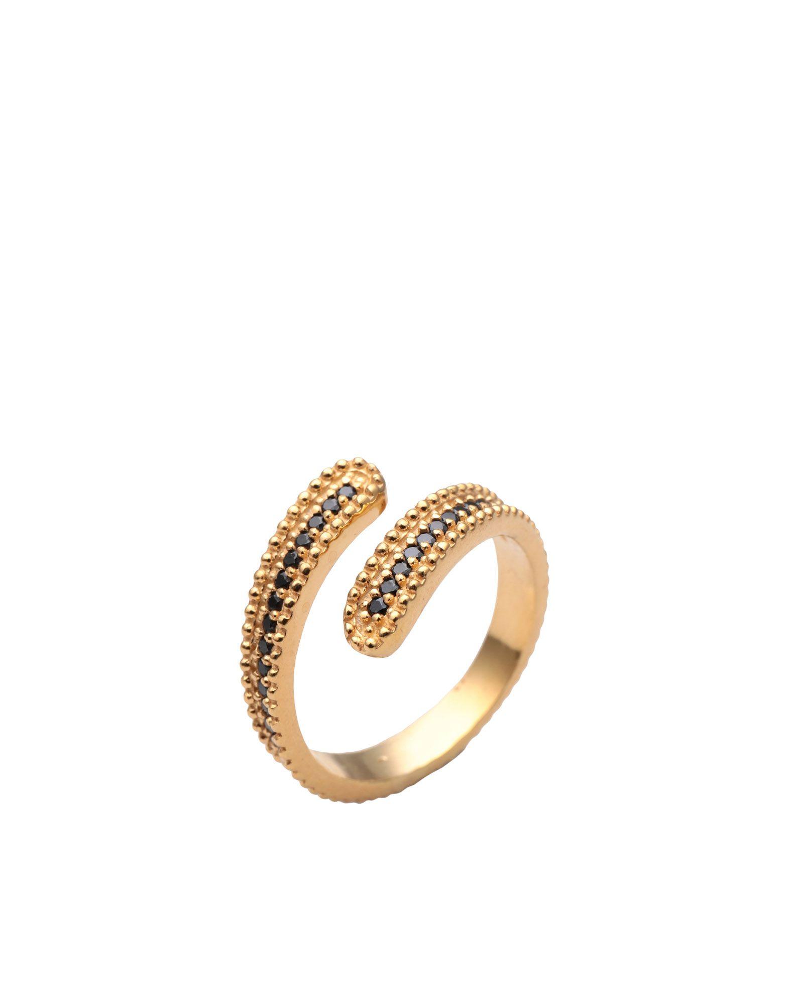 《送料無料》FIRST PEOPLE FIRST レディース 指輪 ゴールド one size シルバー925/1000 / 18金メッキ / キュービックジルコニア Concordia Zircon Ring