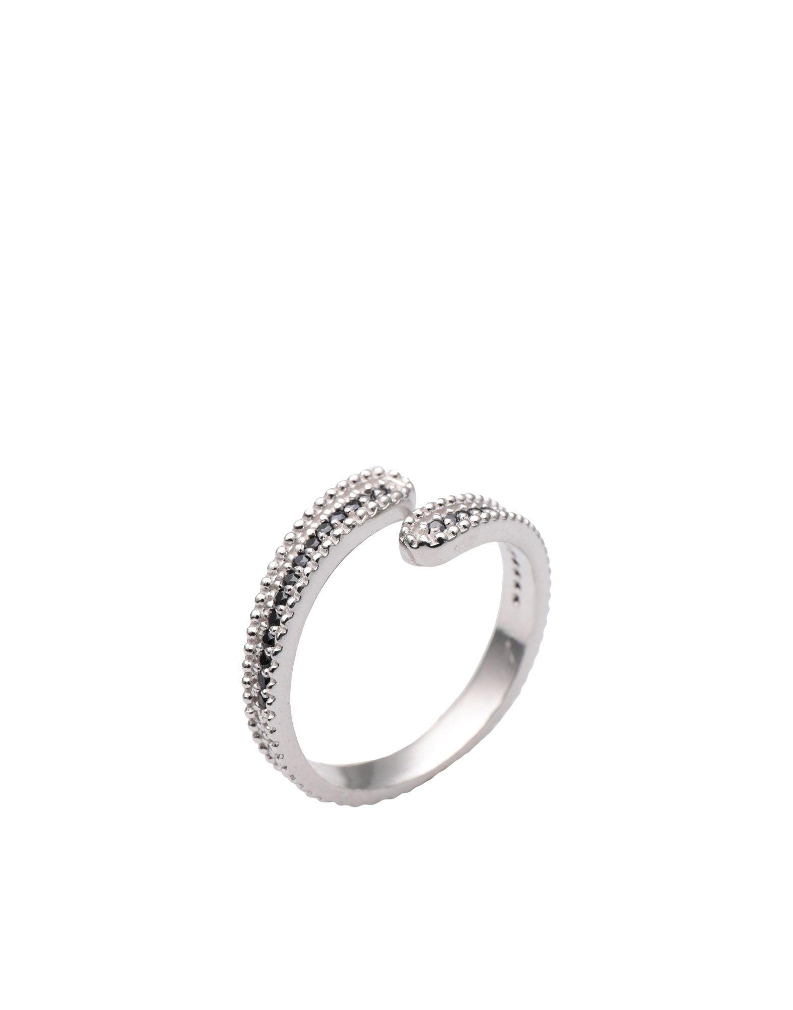 《セール開催中》FIRST PEOPLE FIRST レディース 指輪 シルバー one size シルバー925/1000 / 18金メッキ / キュービックジルコニア Concordia Zircon Ring