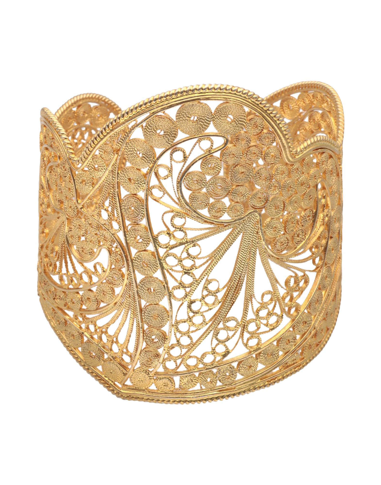《セール開催中》FIRST PEOPLE FIRST レディース ブレスレット ゴールド シルバー925/1000 Filigree heart cuff