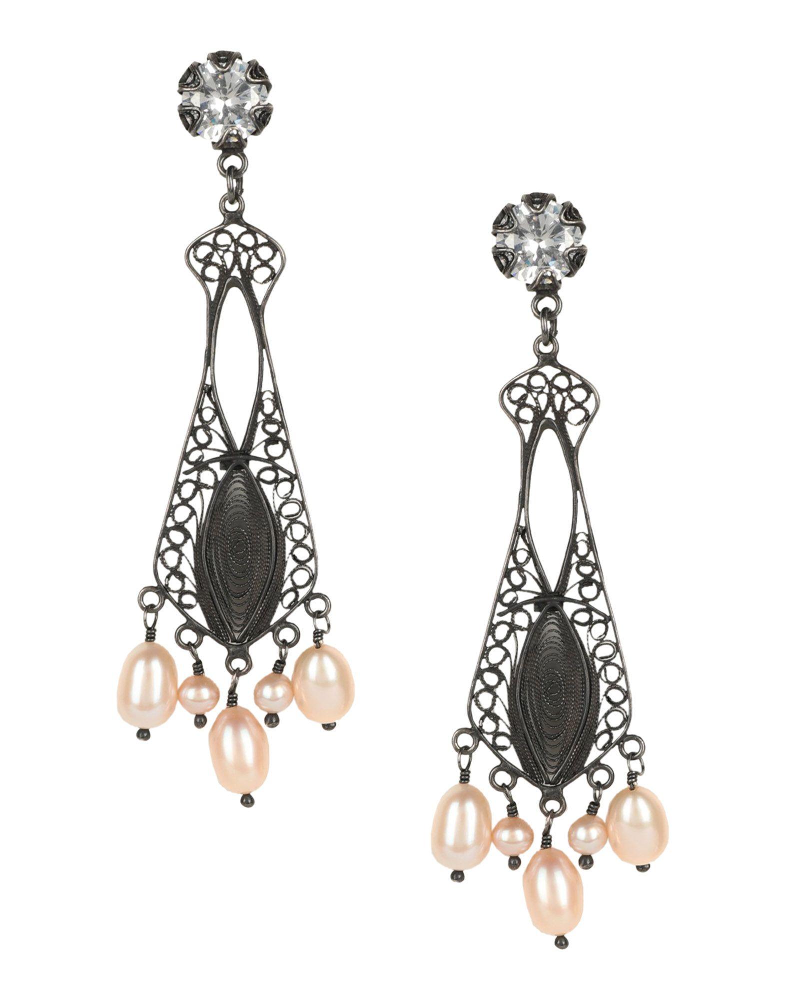 《セール開催中》FIRST PEOPLE FIRST レディース イヤリング 鉛色 シルバー925/1000 Chair-ity earrings