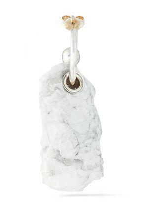 PROENZA SCHOULER Silver-tone stone earring