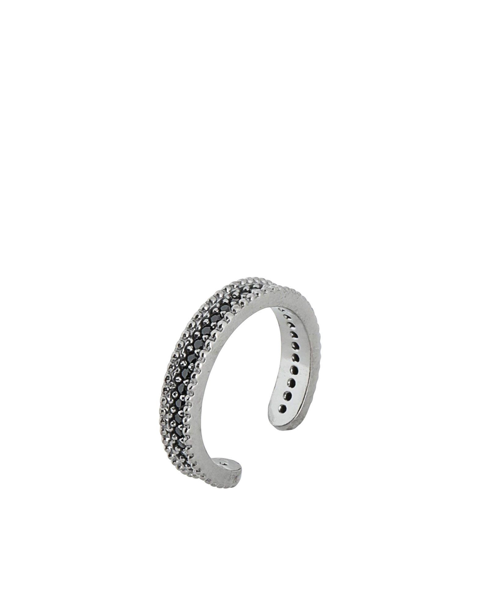 《セール開催中》FIRST PEOPLE FIRST レディース 指輪 鉛色 7 シルバー925/1000 / 18金メッキ / キュービックジルコニア Concordia Zircon Allover Ring