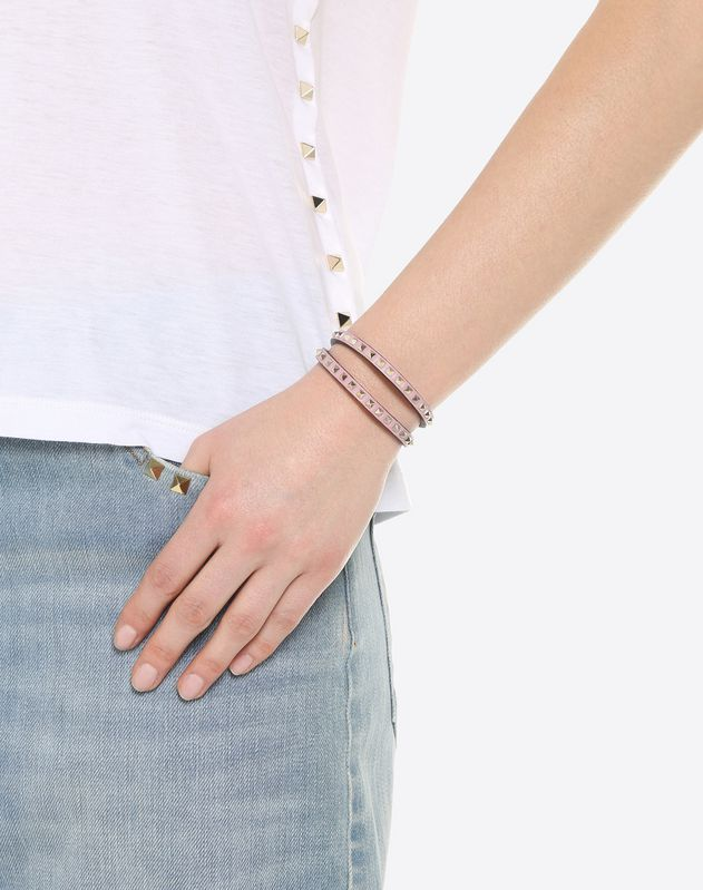 Double-wrap Rockstud No Limit bracelet
