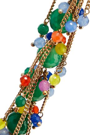ROSANTICA Rossini gold-tone bead necklace