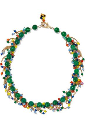 ROSANTICA Rossini gold-tone bead necklace