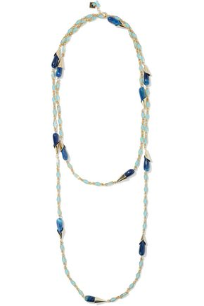 ROSANTICA Bellini gold-tone stone necklace