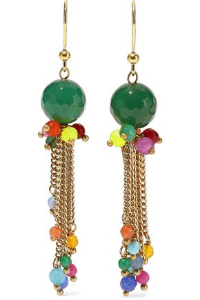 ROSANTICA Rossini gold-tone beaded earrings