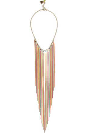 ROSANTICA Cosmopolitan gold-tone bead necklace