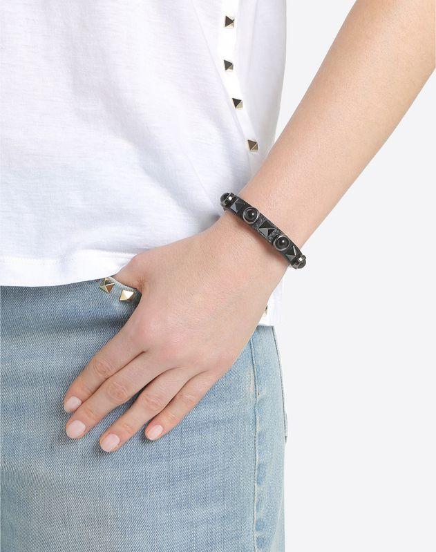 Rockstud Rolling Noir bracelet