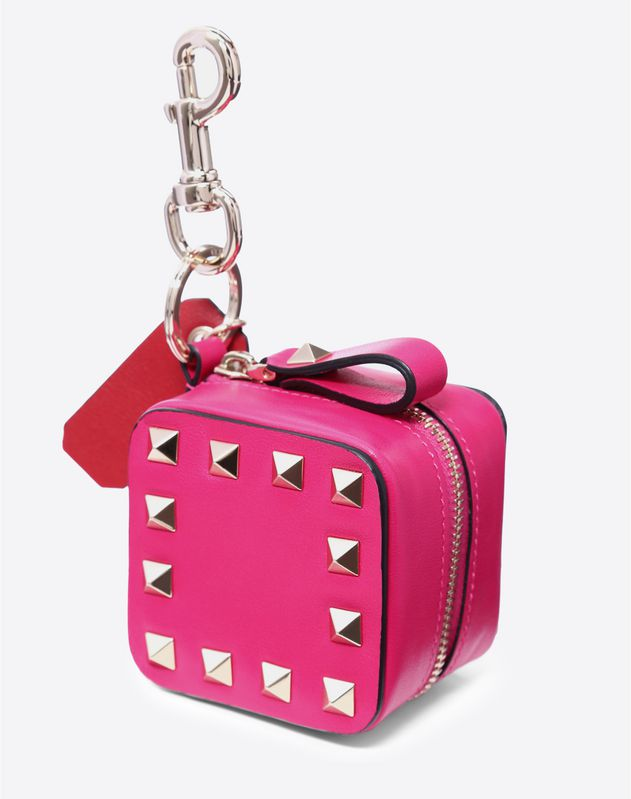 Rockstud Coin Purse Charm