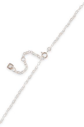 MAYA MAGAL  London Sterling silver and 18-karat gold vermeil necklace