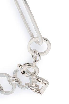 MAYA MAGAL  London Sterling silver and 18-karat gold-plated bracelet