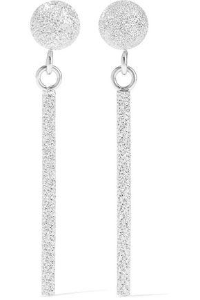 CAROLINA BUCCI Magic Wand 18-karat white gold earrings