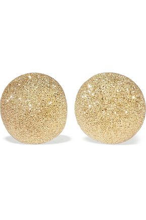 CAROLINA BUCCI Florentine 18-karat gold earrings