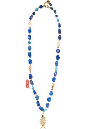 ROSANTICA Saona gold-tone multi-stone necklace
