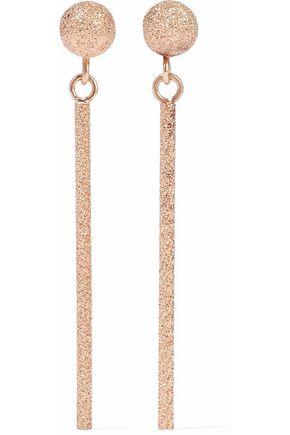 CAROLINA BUCCI Magic Wand long 18-karat rose gold earrings