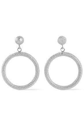 18-karat white gold earrings
