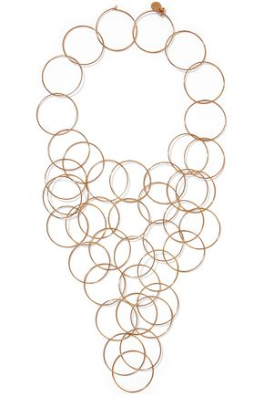 STELLA McCARTNEY Gold-tone necklace