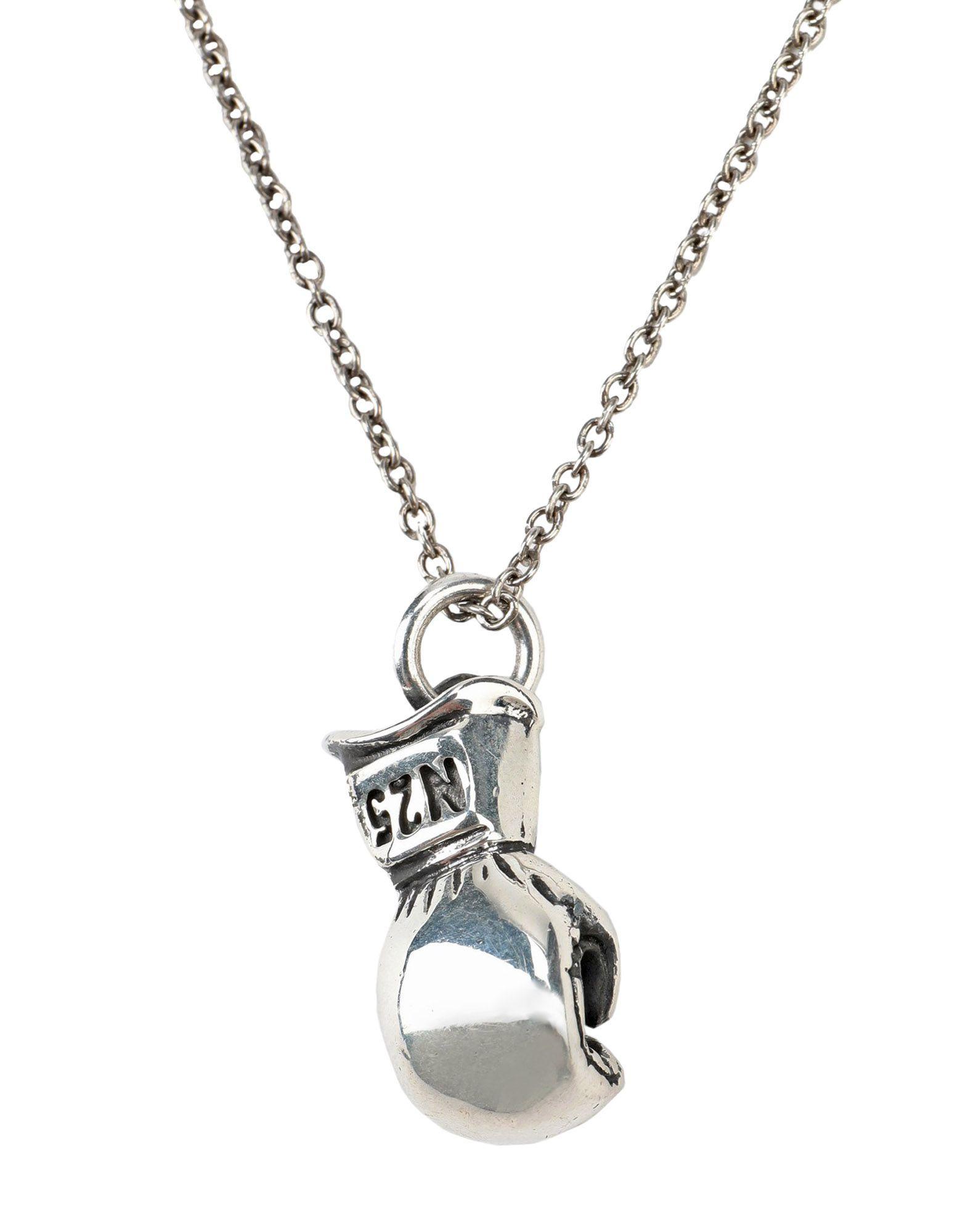 《セール開催中》NOVE25 メンズ ネックレス シルバー シルバー925/1000 BOXING GLOVE NECKLACE