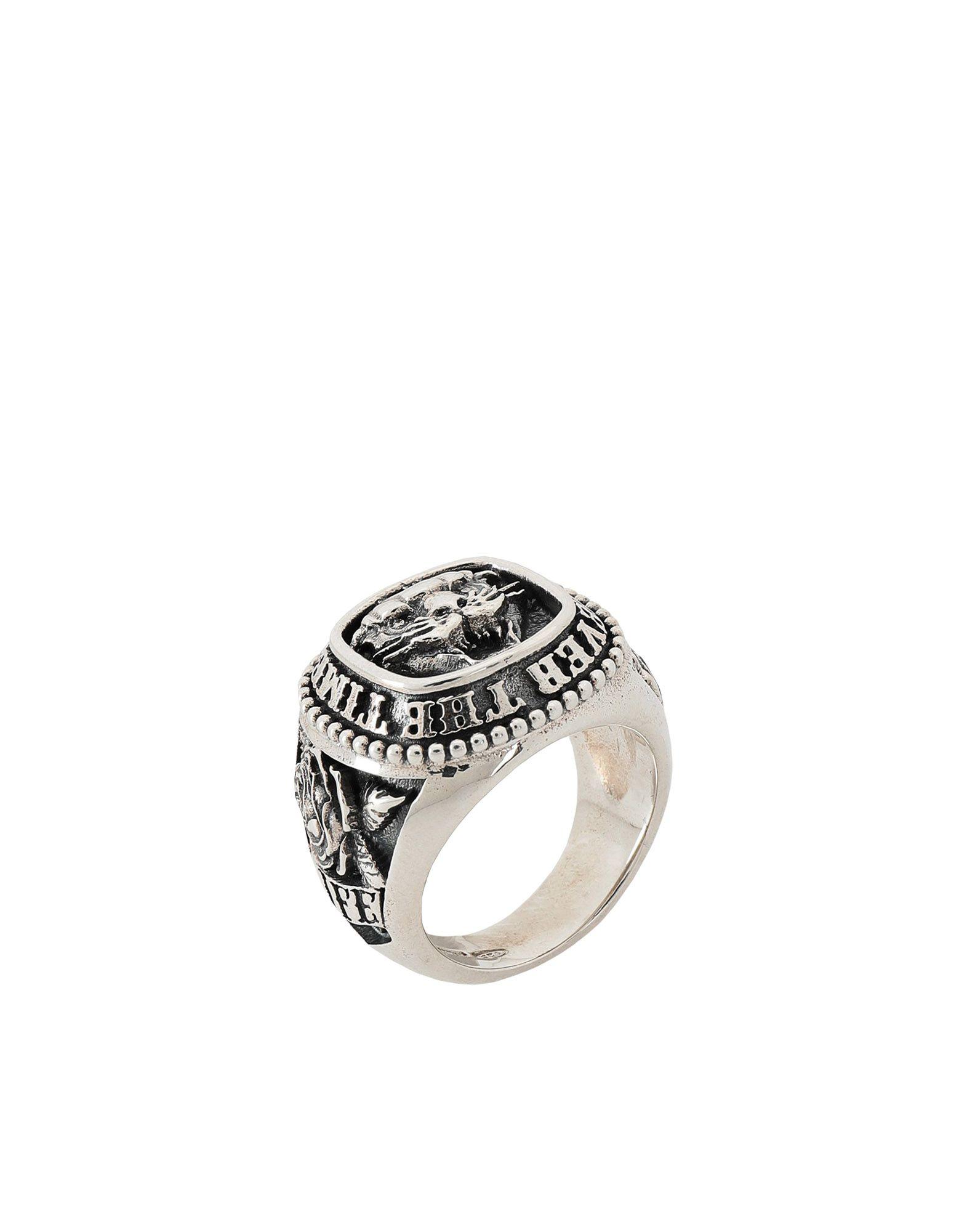 《期間限定 セール開催中》NOVE25 メンズ 指輪 シルバー 12 シルバー925/1000 TRADITIONAL PANTHER RING