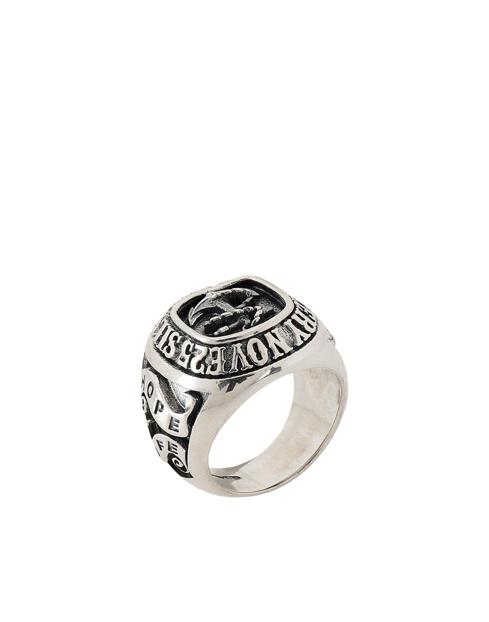 《期間限定 セール開催中》NOVE25 メンズ 指輪 シルバー 13 シルバー925/1000 TRADITIONAL ANCHOR RING