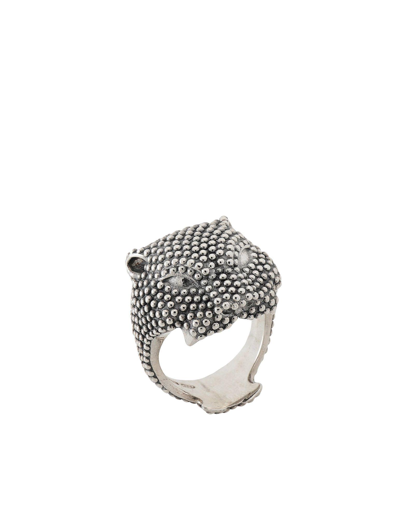 《期間限定 セール開催中》NOVE25 メンズ 指輪 シルバー 19 シルバー925/1000 DOTTED PANTHER RING