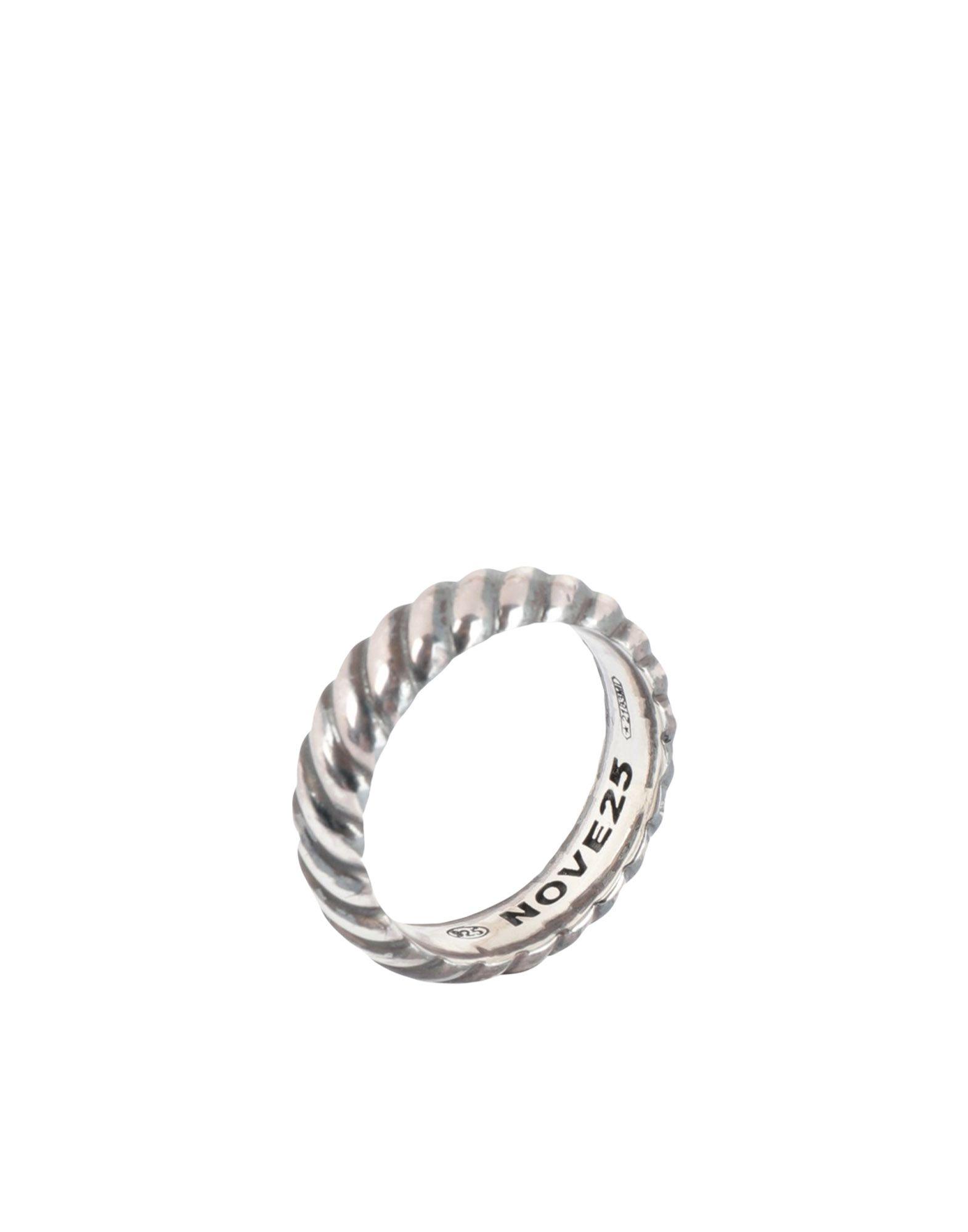《期間限定 セール開催中》NOVE25 レディース 指輪 シルバー 12 シルバー925/1000 TORCHON FINE RING