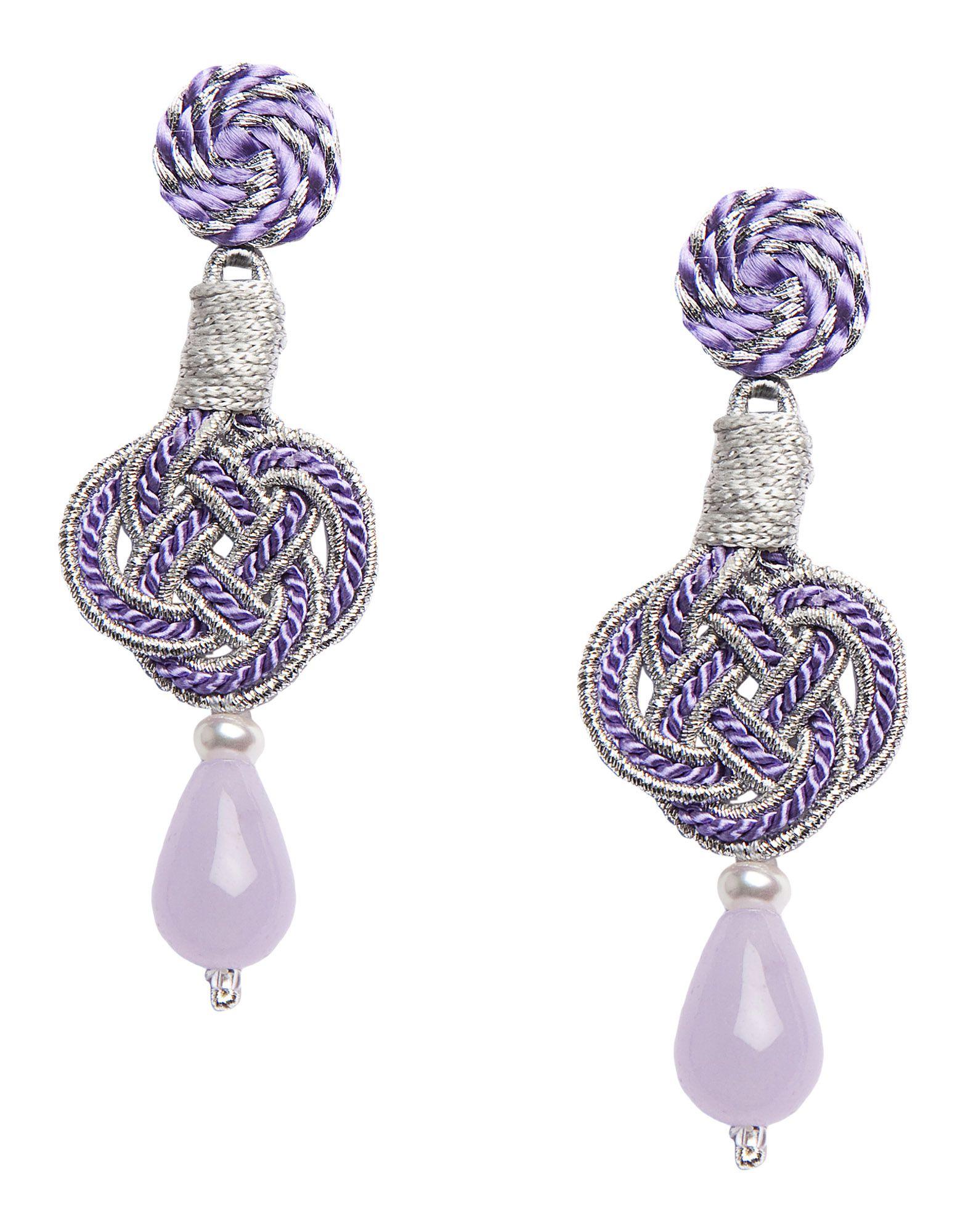 ANNA E ALEX Earrings in Purple