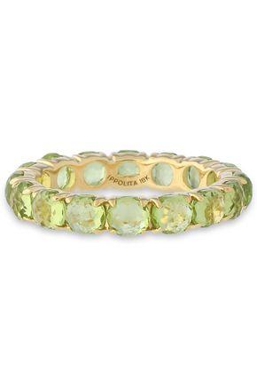 IPPOLITA 18-karat gold peridot ring
