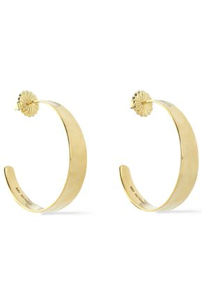 IPPOLITA 18-karat gold hoop earrings