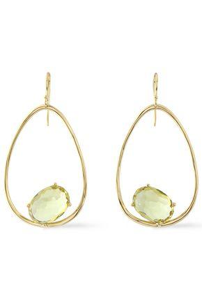 IPPOLITA 18-karat gold citrine earrings