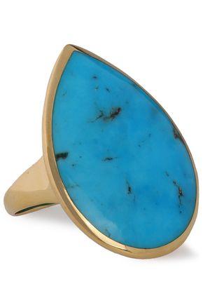 IPPOLITA 18-karat gold turquoise ring