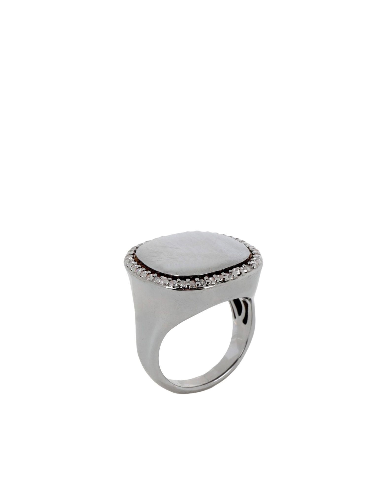 《送料無料》FEDERICA TOSI レディース 指輪 鉛色 11 金属