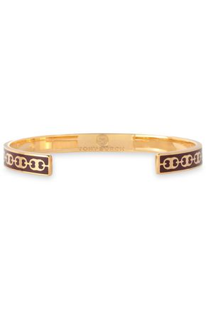 TORY BURCH Gold-tone enamel cuff