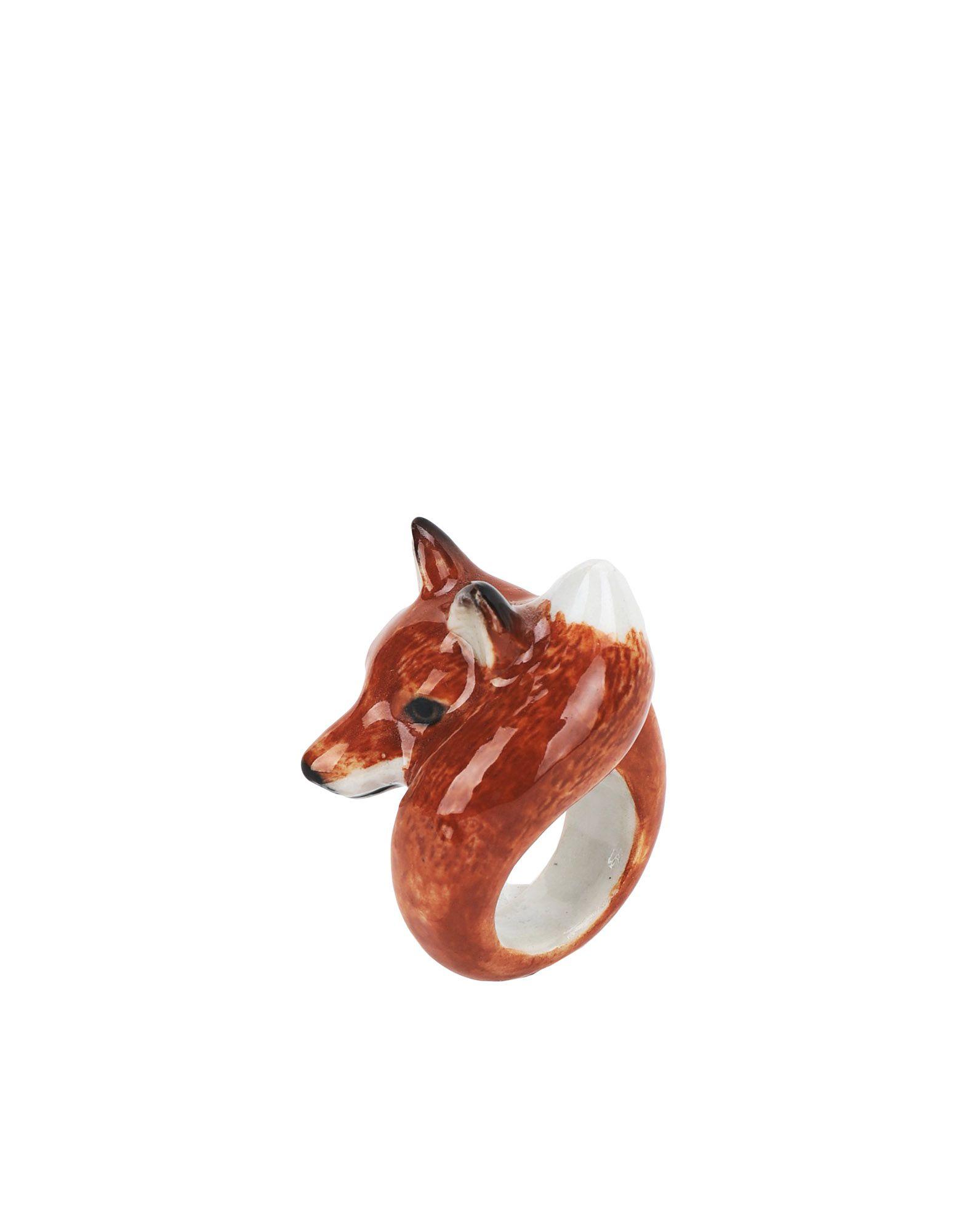 《期間限定 セール開催中》NACH レディース 指輪 ベージュ M セラミック 100% fox ROUND RING