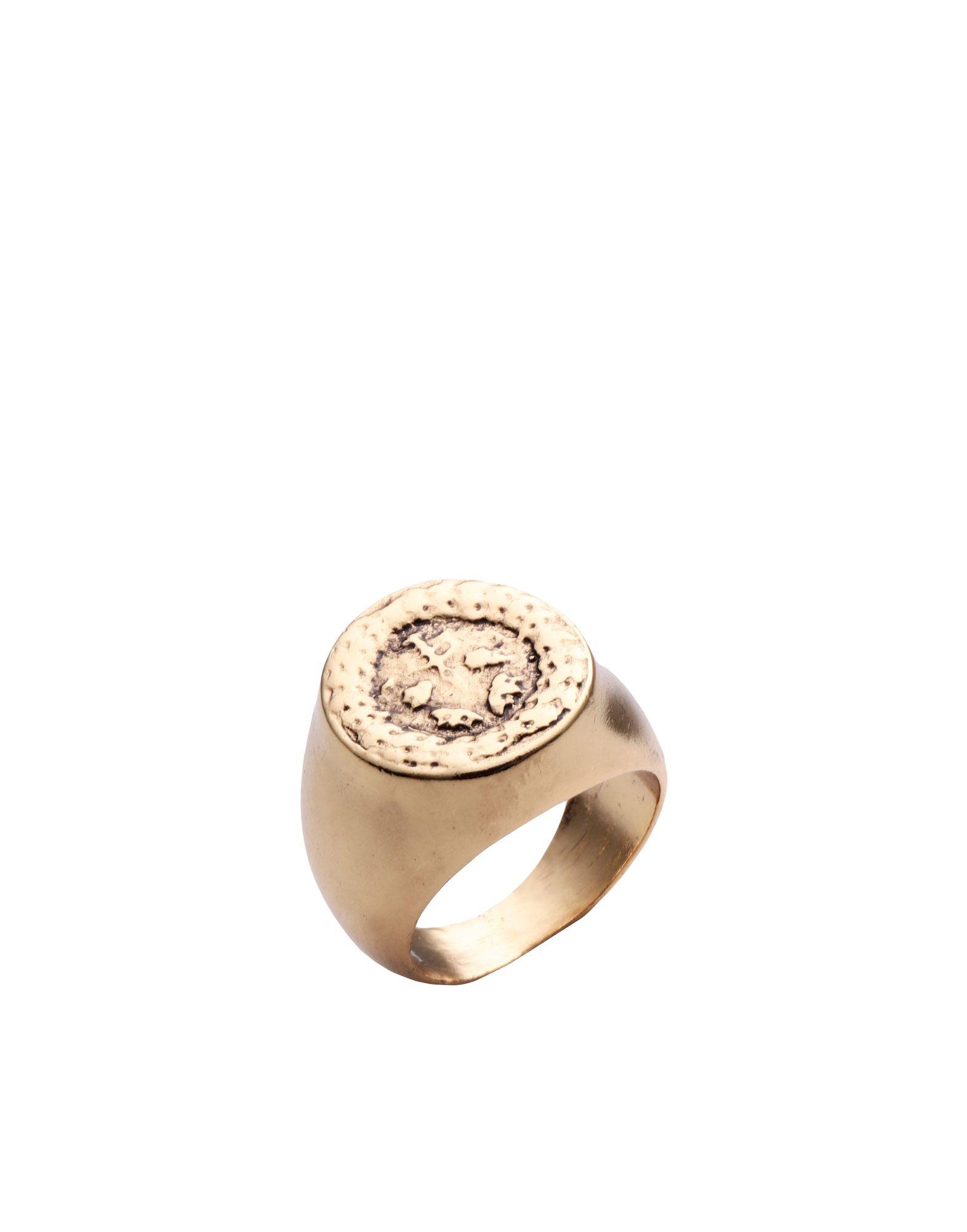 《セール開催中》THOT GIOIELLI レディース 指輪 ゴールド S 真鍮/ブラス 100%