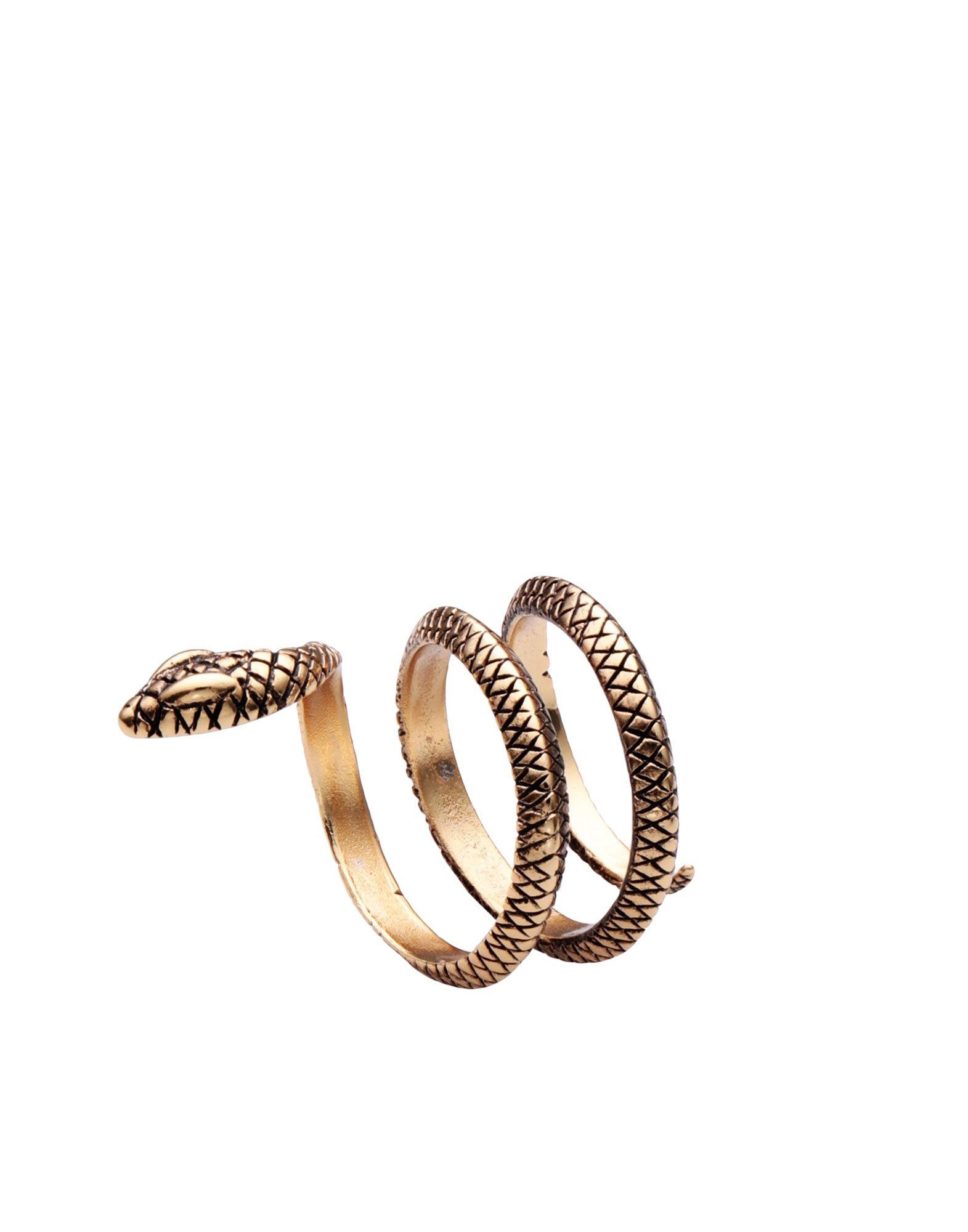 《セール開催中》THOT GIOIELLI レディース 指輪 ゴールド one size 真鍮/ブラス 100%