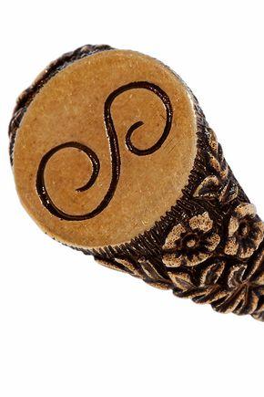 STELLA McCARTNEY Burnished gold-tone ring