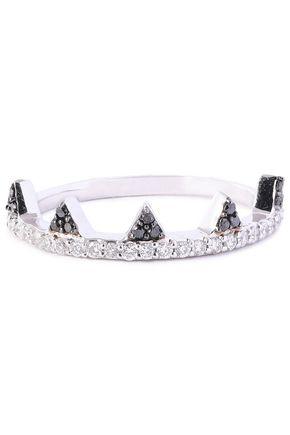 KHAI KHAI 18-karat white gold diamond ring