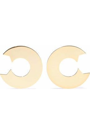 ARME DE L'AMOUR Gold-tone earrings