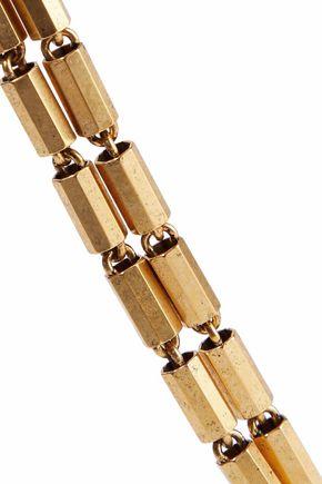 ELIZABETH COLE Gold-tone necklace