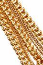 ELIZABETH COLE Gold-tone bracelet