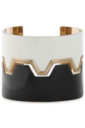 MISSONI Gold-tone enamel bracelet
