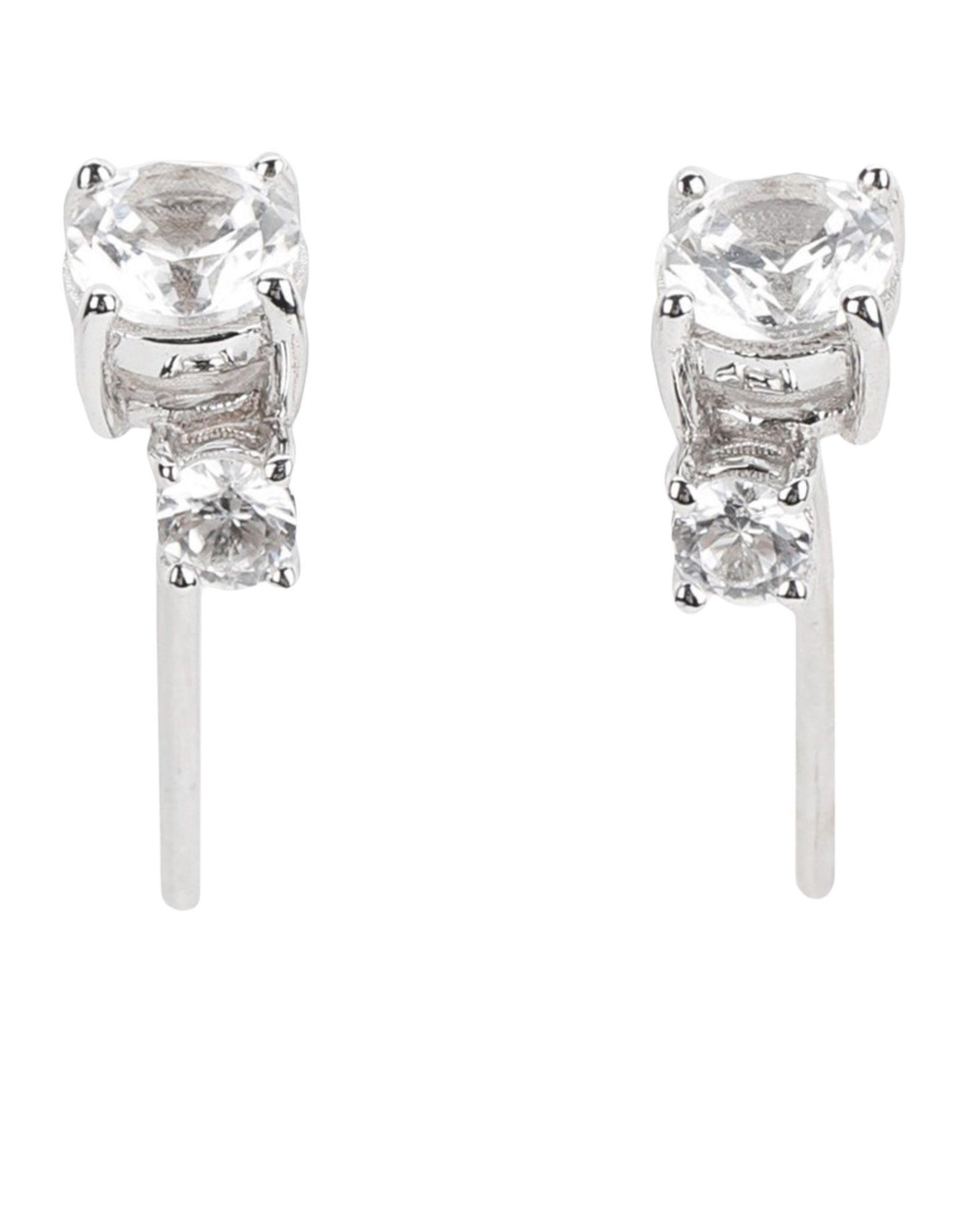 """《期間限定 セール開催中》EK THONGPRASERT レディース イヤリング シルバー シルバー925/1000 / 合成石 """"Silver Earrings With Semi Precious Stones"""" """""""