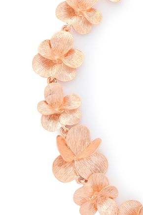 OSCAR DE LA RENTA Rose gold-tone necklace