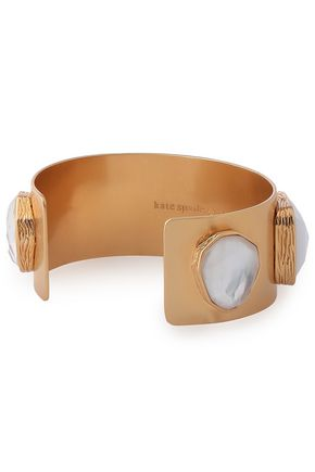 KATE SPADE New York Gold-tone crystal bracelet