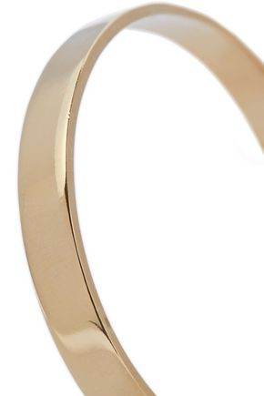 IRIS & INK Elizabeth 18-karat gold-plated sterling silver cuff