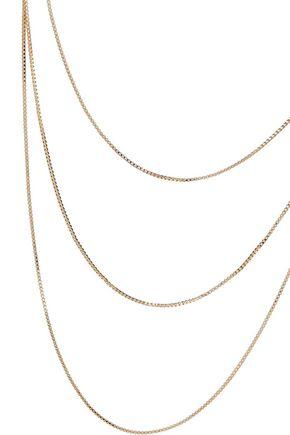IRIS & INK Charlotte 18-karat gold-plated sterling silver necklace