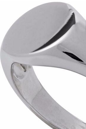 IRIS & INK Alexandra 18-karat white gold-plated sterling silver ring
